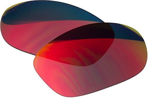 Ersatz-Objektive für Oakley Oakley Pit Bull Sonnenbrille, Red Mirror