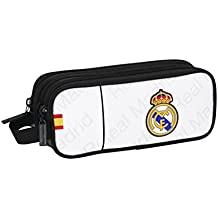 Real Madrid - Portatodo triple, 21 x 9 cm (Safta 811557635)