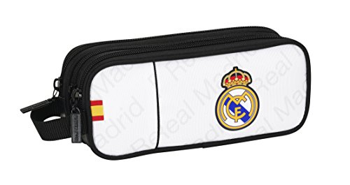 Real Madrid – Portatodo Triple, 21 x 9 cm (SAFTA 811557635)