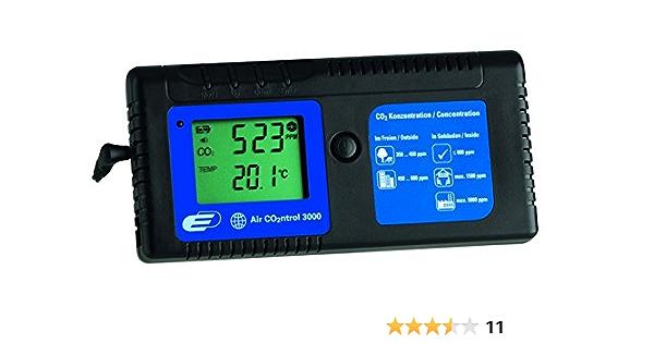 Tfa Dostmann Airco2ntrol 3000 Co2 Messgerät Zur Überwachung Der Co2 Konzentration Akustischer Alarm Temperaturanzeige Garten