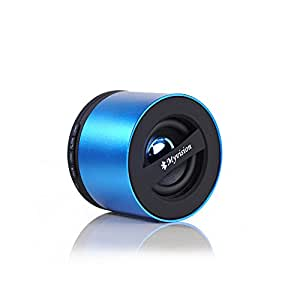 Myvision® by Domon® Mini Portable Wireless Bluetooth Speaker with Stereo Sound, Subwoofer, Bluetooth,Radio, Free phone,FM function,SD Card,high power Lithium batterry-N9S(Blue)