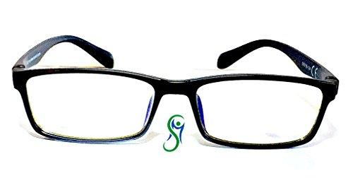 Movement Health Lens, Schutzbrille mit neutralen Gläsern, gegen Blaulicht (bis zu 40%) und UV (100%) für PC, Tablet, Smartphone, TV, Gaming, LED-Licht. Beseitigen Sie die Augenbelastung.