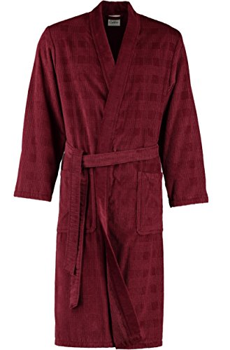 Preisvergleich Produktbild Cawö Herren Kimono 3807 Fb. 200 - bordeaux Größe 48