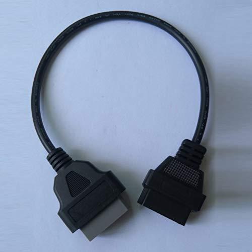 XZANTE MB 14 Pin A Obdii OBD II Obd2 OBD-2 para Mercedes Sprinter 14Pin A 16Pin Adapter