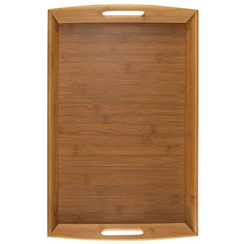 Levivo SET111539A - Bandeja de bambú, aprox. 44 x 29 cm - 5