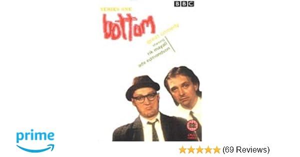 Bottom Rik Mayall Adrian Edmondson Colour Door Poster 1