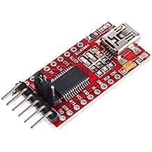 tinxi® FT232RL FTDI USB auf TTL Serien Converter Adapter Modul 5V 3.3V für Arduino