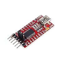 Le FT232RL FTDI est un convertisseur de RS232 vers USB et est adapté pour une utilisation directe sur un microcontrôleur.     Si vous connectez le FT232 à un PC, il est reconnu par le système d'exploitation comme une interface série. Un travail est e...