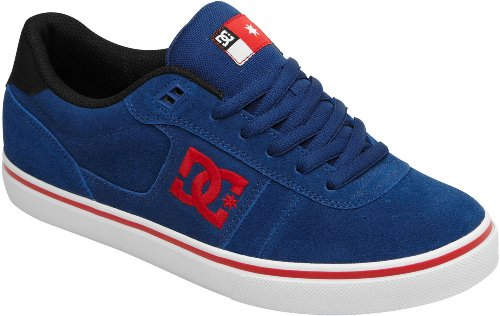 DC Shoes Match WC S skater sneaker blue 302728 men trainer suede Estate Blue