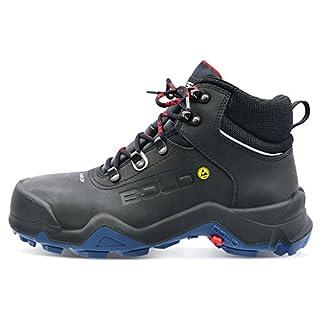 HKS Delta 1TP Sicherheits-Stiefel S3 SRC ESD En ISO 20345 Schwarz   043