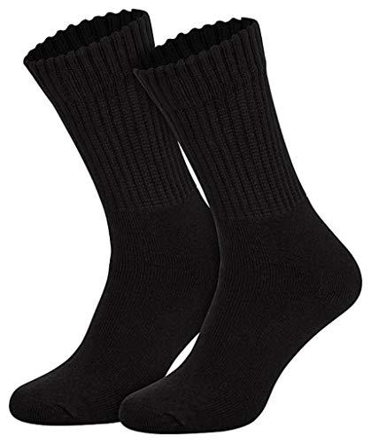 Sockenversandhandel 5 Paar Tennissocken Sportsocken mit Komfortbündchen 90% Baumwolle 35-38