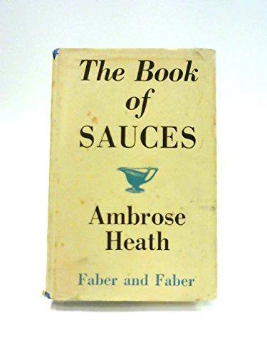 The Book of Sauces par Ambrose Heath