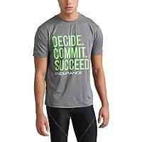 Ultrasport Endurance Spilsby Camiseta, Hombre, Gris Oscuro (Mezcla), 3XL