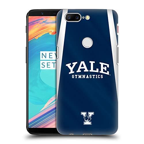fizielle Yale University Gymnastik 2017/18 Jerseys Harte Rueckseiten Huelle kompatibel mit OnePlus 5T ()