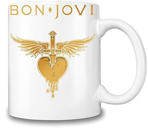 Bon Jovi Logo Mug Cup