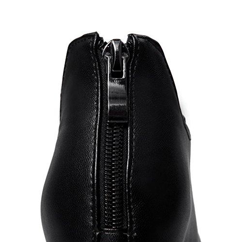 Adee pour femme Couleurs assorties givré Pompes Chaussures Noir