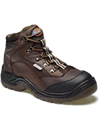 Dickies - Calzado de protección para hombre, color marrón, talla 41.5