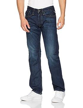 Replay Herren Straight Leg Jeanshose NEWBILL