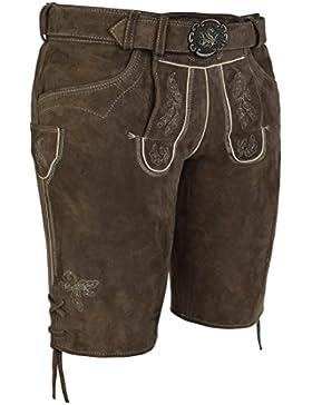 Spieth & Wensky Lederhose Veit mit Gürtel 45 cm