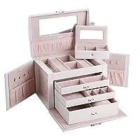 Rowling Elegant Jewellery Box Jewelery Storage Case Jewellery Organizer