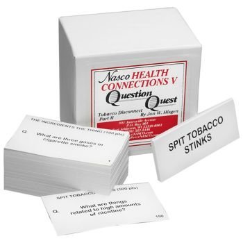 Nasco Tobacco Disconnect 2 Question Quest Card Set