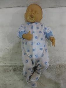 The Doll Factory la muñeca factory13.60507blanco Dream Baby Boy muñeca con pañales