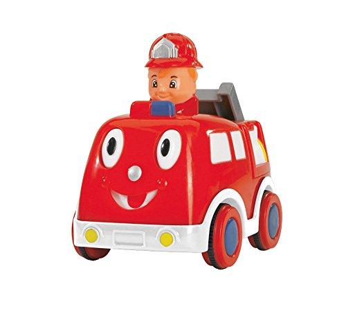 Simba 104014228 - ABC Press 'n Go Auto 11 cm, 2-sort. (Spielzeug Jahr 1 Jungen)