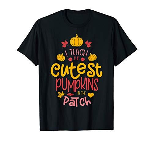 Lehrer Halloween Kostüm - Halloween Kostüm Lehrer unterrichte die schönsten Kürbisse T-Shirt