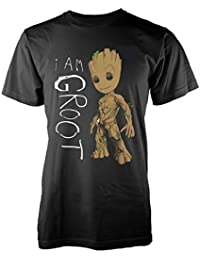 MARVEL GUARDIANS OF THE GALAXY VOL 2 I AM GROOT SCRIBBLES TS