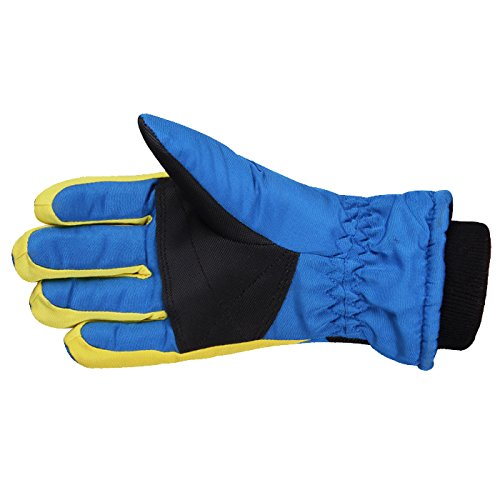 AONIJIE Childrens Ski Gloves Waterproof Windproof Warm Lining Outdoor Sports Snow Gloves For 5-10 Years Old Boy /&Girls