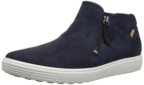 Ecco Damen Soft 7 Ladies Stiefeletten, Blau (Night Sky 2303), 40 EU