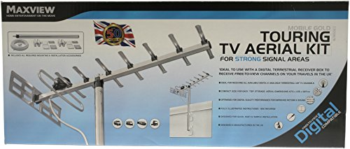 MaxView C3008/B Mobile Touring UHF-TV-Antennen-Set Uhf Mobile