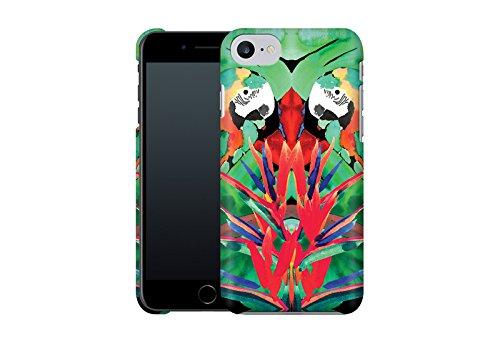 Handyhülle mit Tier-Design: iPhone 7 Hülle / aus recyceltem PET / robuste Schutzhülle / Stylisches & umweltfreundliches iPhone 7 Case - Apple iPhone 7 Schutzhülle: Blossom Bird von Terry Fan Parrot von Amy Sia