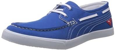 Puma Unisex Yacht Cvs Imperial Blue Canvas Sneakers - 6 UK