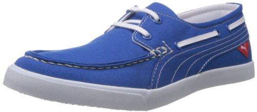 Puma Unisex Yacht Cvs Imperial Blue Canvas Sneakers – 9 UK 41RWO39RZHL