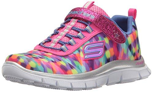 Skechers Kids Girls' Skech Appeal-Color Daze Sneaker,Multi,2 M US Little Kid