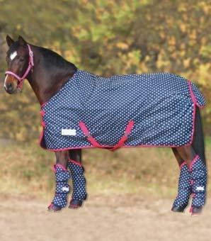 Waldhausen (AL) Outdoordecke Unicorn, Fleece, Nachtblau, 115 cm, Nachtblau, 115 cm
