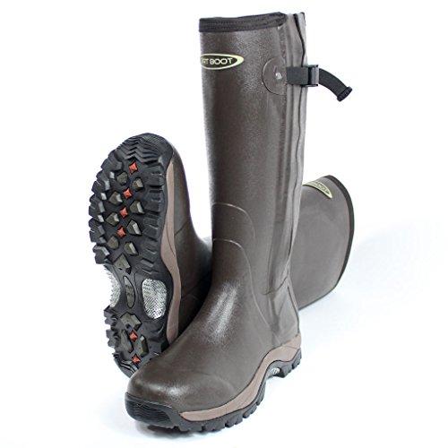 dirt-boot-neoprene-rubber-wellington-muck-boot-pro-sport-hunt-zip-brown-size-10-44