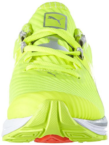 Puma - Speed 600 Ignite Pwrcool Wn, Scarpe da corsa Donna Giallo (Gelb (safety yellow-puma silver 02))