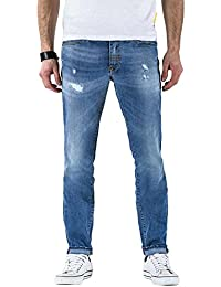 Meltin'Pot - Jeans MANER D0120-UB420 pour homme, style slim, taille slim, taille normale