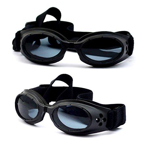 Gafas de sol modernas con protección UV para perros pequeños