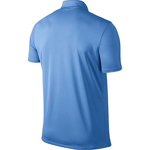 NIKE Herren Polo Hemd Victory Solid University Blue/White