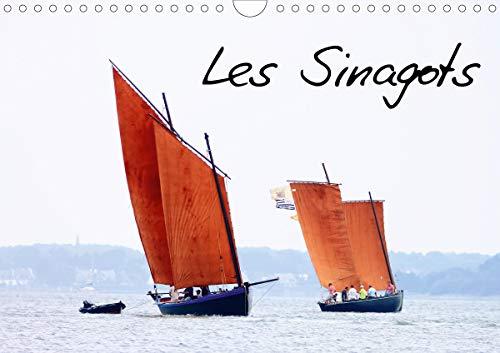 Les Sinagots (Calendrier mural 2020 DIN A4 horizontal): Photos d'anciens bateaux de pêche du début du  XXe siècle (Calendrier mensuel, 14 Pages ) (Calvendo Nature)