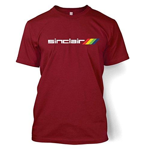 Sinclair Logo Herren t-shirt Cardinal Rot