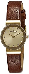 Skagen Analog Gold Dial Womens Watch - SKW2175I