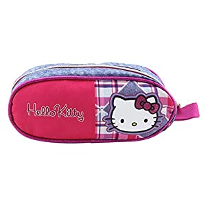 Hello Kitty 16328 – Estuche de lápices Redondo, sin Contenido