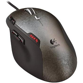 Logitech G500 - Ratón láser para videojuegos de ordenador, color negro/ gris