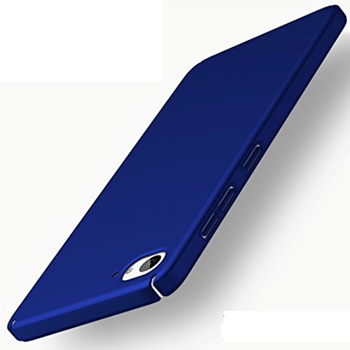 Apanphy ZUK Z2 Hülle , Hohe Qualität Ultra Slim Harte Seidig Und Shell Volle Schutz Hinten Haut Fühlen Schutzhülle für ZUK Z2, Blau