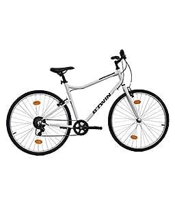Btwin Riverside 100 Hybrid Cycle - White (S 1M50-1M65)