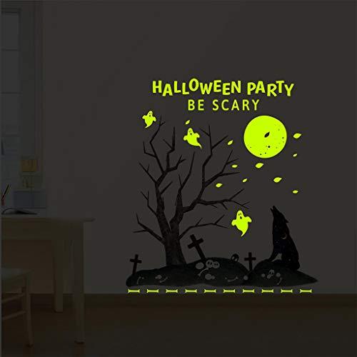 Kostüm Schmetterling Fett - Leuchtender Wandaufkleber, Chshe TM, Halloween KostüM StüTze Diy Wandaufkleber Wohnzimmer Schlafzimmer Dekoration Aufkleber